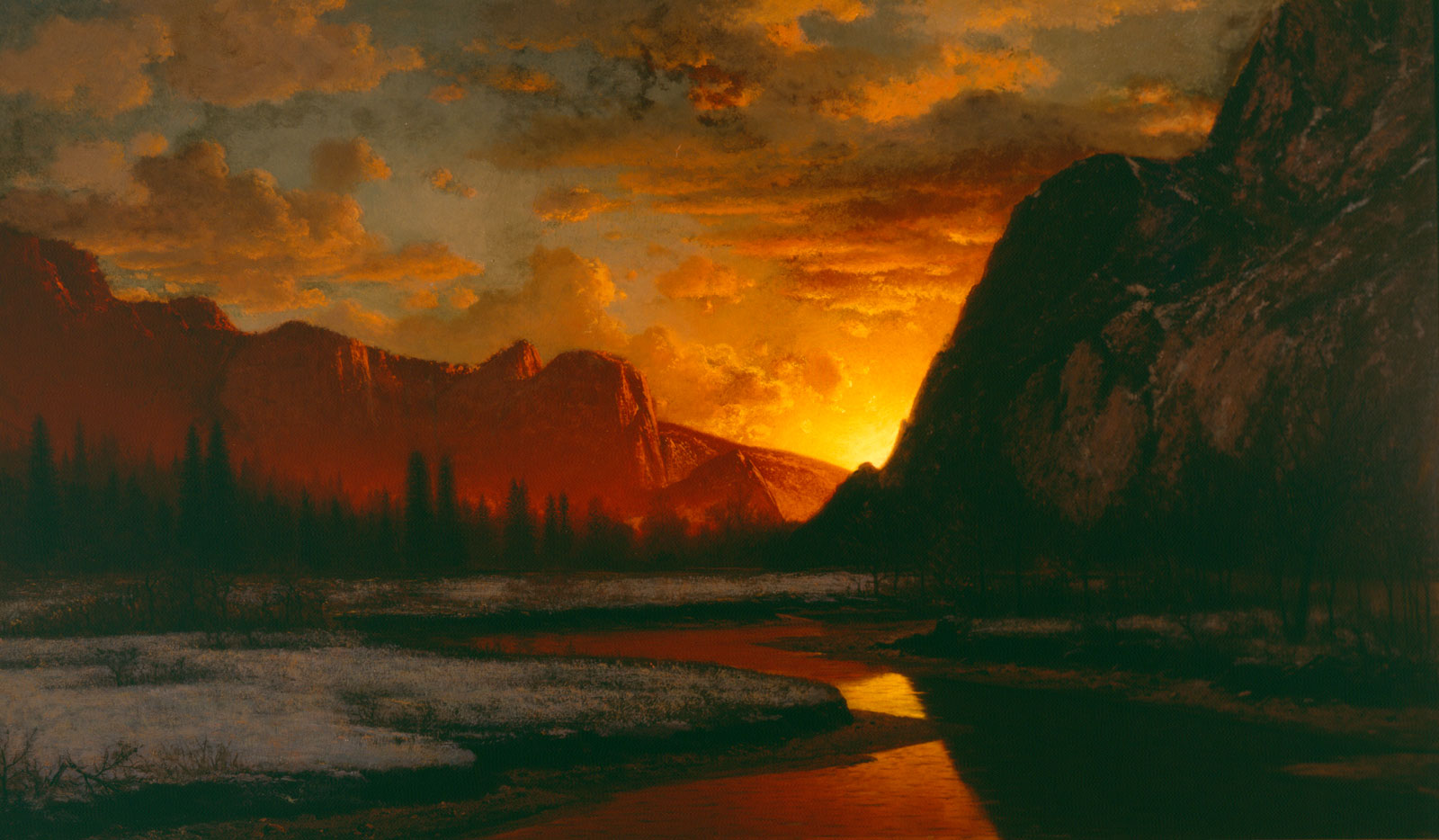 Sunset Yosemite Bradford